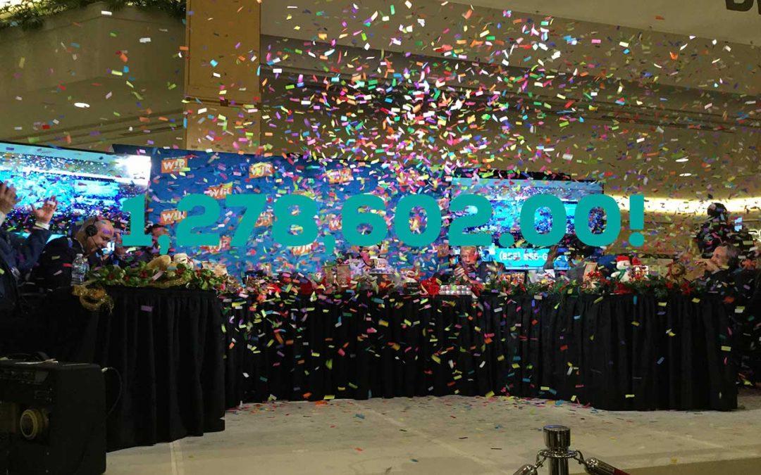 Lucky 7 Radiothon Raises $1,278,602.00
