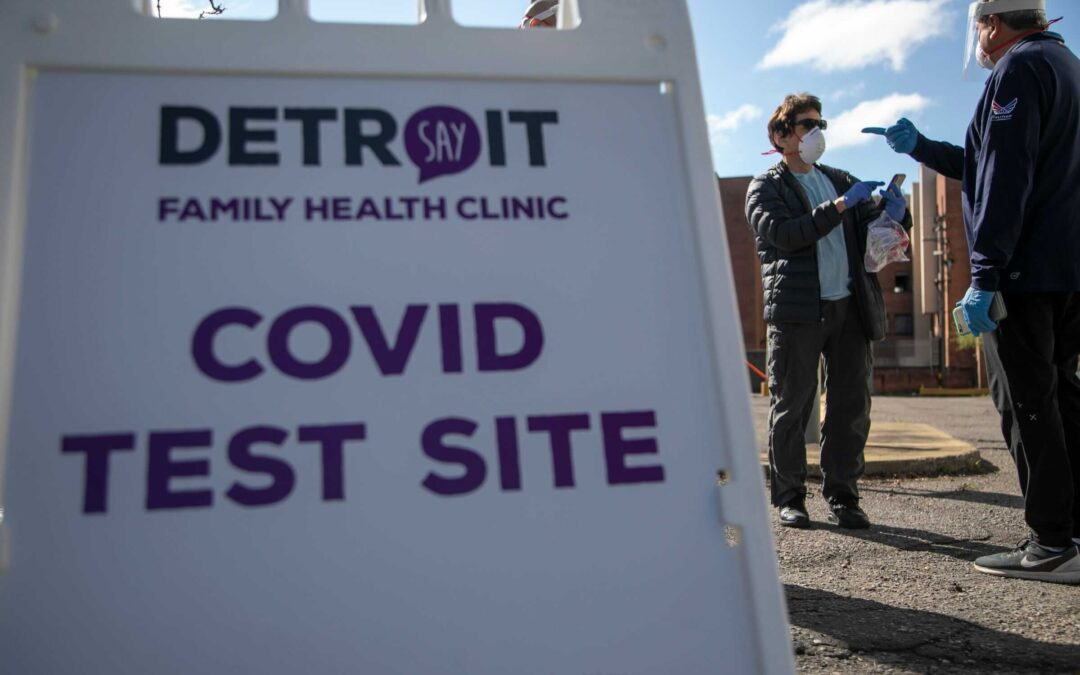 Clinic Again Mobilizes for Covid-19 Testing
