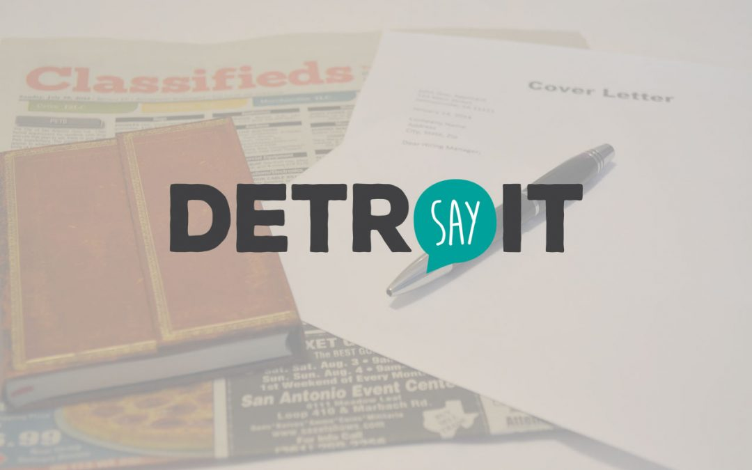 SAY Detroit is Hiring: Chief Development Officer