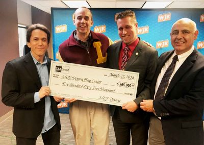 Sharing the Giving: More than $1 Million Given to Detroit Charities 5