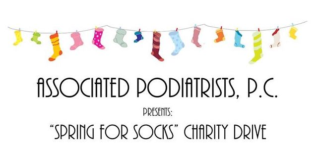 Spring for Socks Charity Drive