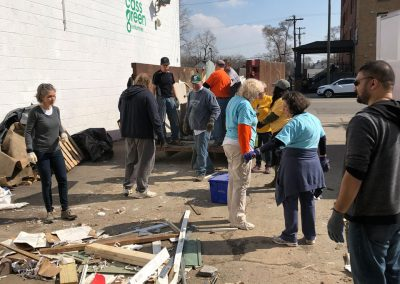Clean-Up At Cass Community Refreshes, Lifts Spirits 13