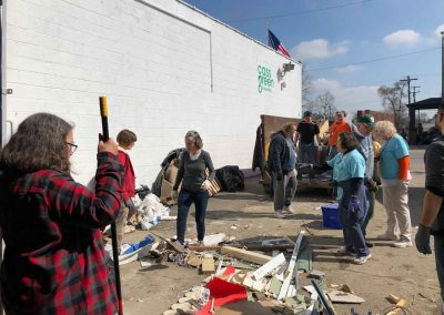 Clean-Up At Cass Community Refreshes, Lifts Spirits 1