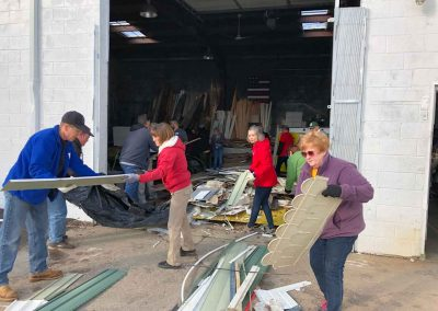Clean-Up At Cass Community Refreshes, Lifts Spirits 5