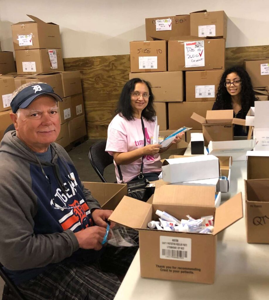A Time to Help Volunteers Bring Christmas in July 11