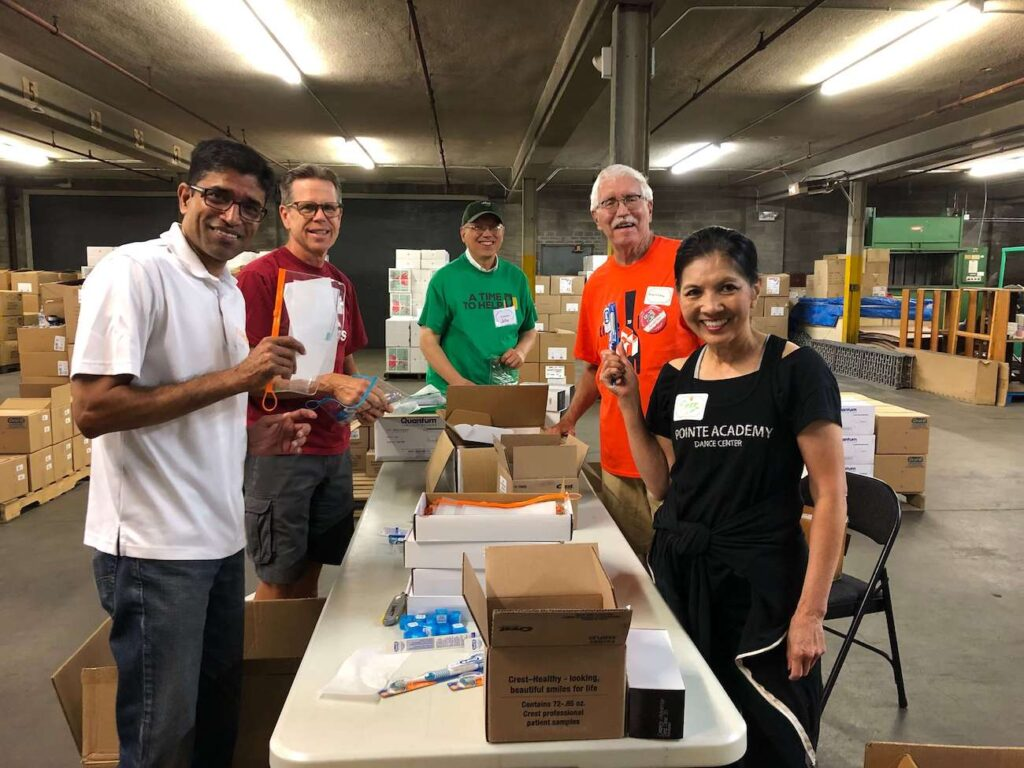 A Time to Help Volunteers Bring Christmas in July 12