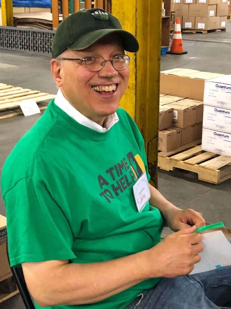 A Time to Help Volunteers Bring Christmas in July 14