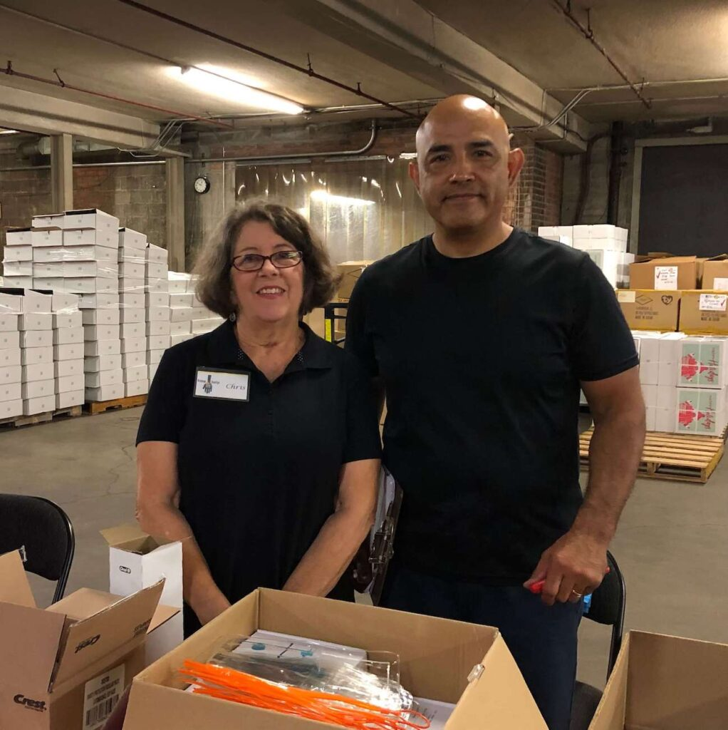 A Time to Help Volunteers Bring Christmas in July 15