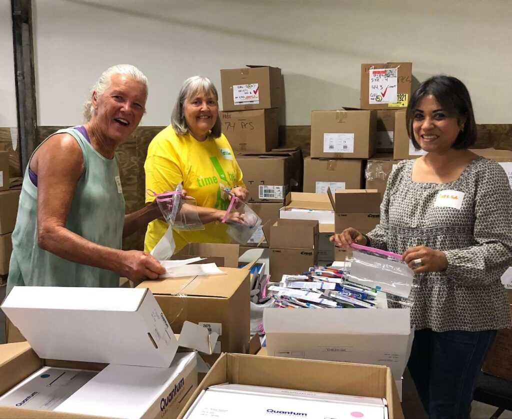 A Time to Help Volunteers Bring Christmas in July 3