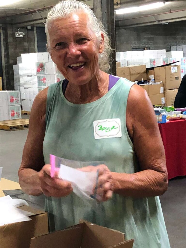 A Time to Help Volunteers Bring Christmas in July 4