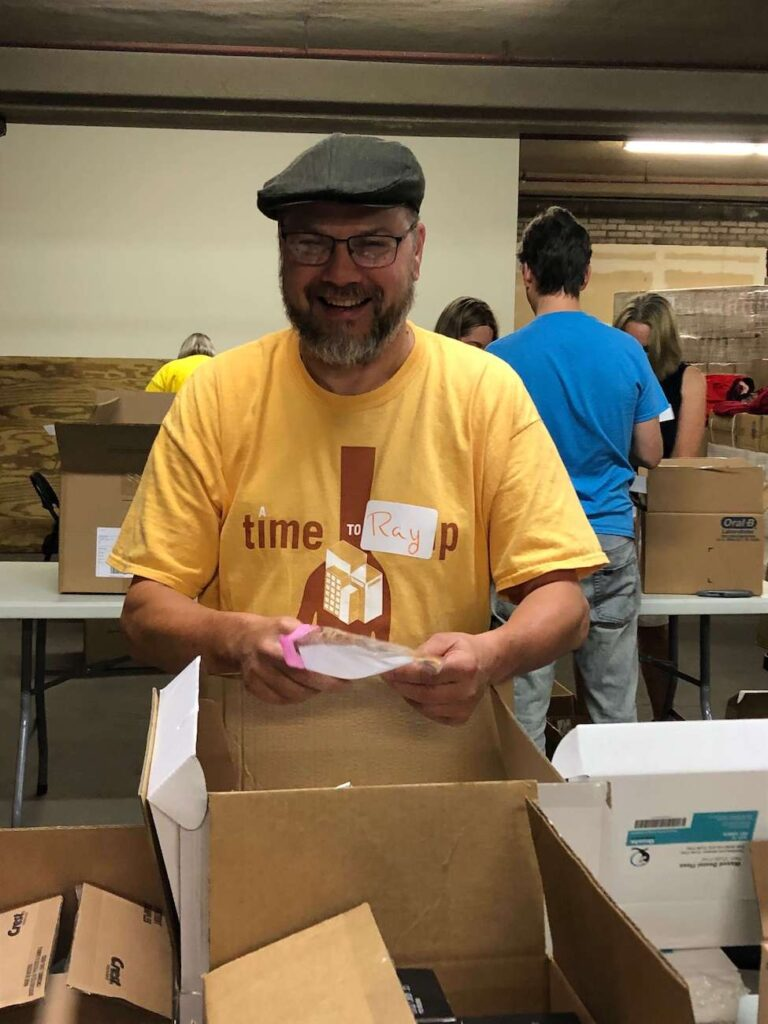 A Time to Help Volunteers Bring Christmas in July 8