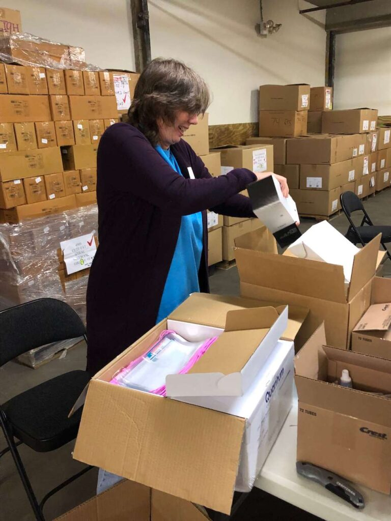 A Time to Help Volunteers Bring Christmas in July 9