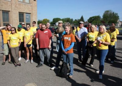 A Time to Help Joins Habitat for Humanity to Clean Up Morningside Commons 5