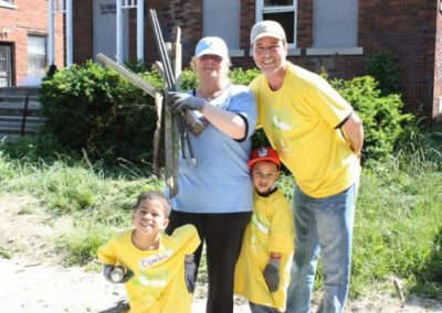 A Time to Help Joins Habitat for Humanity to Clean Up Morningside Commons 1