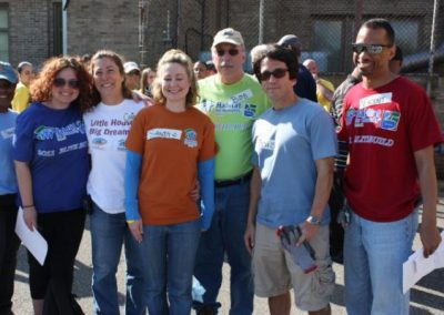 A Time to Help Joins Habitat for Humanity to Clean Up Morningside Commons 4
