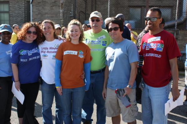 A Time to Help Joins Habitat for Humanity to Clean Up Morningside Commons