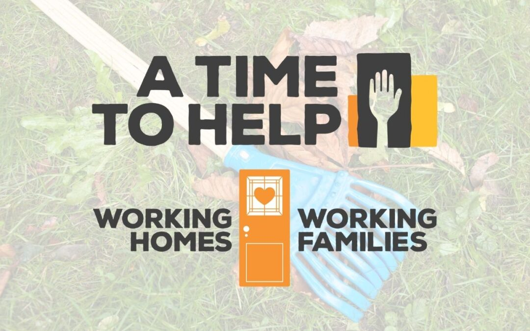 A Time to Help with Some Landscaping for Working Families