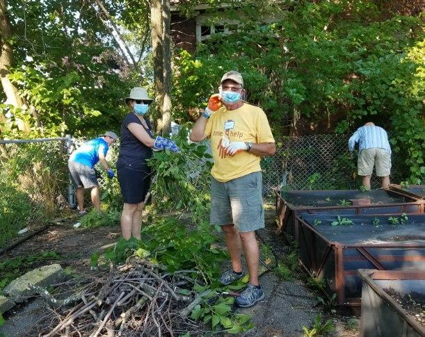 Group Gardening at Big Glen Brings 'A Time to Help' Together Again 8