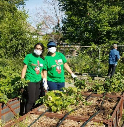 Group Gardening at Big Glen Brings 'A Time to Help' Together Again 9