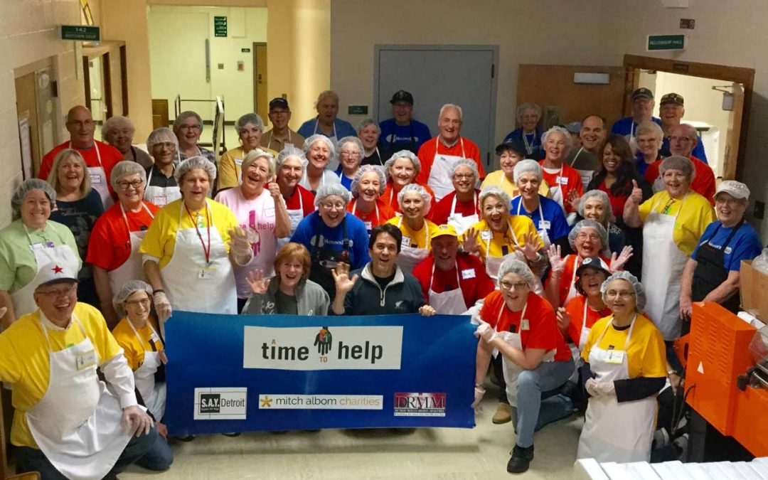 Volunteers Deliver an Impressive Repeat Performance At Motown Soup
