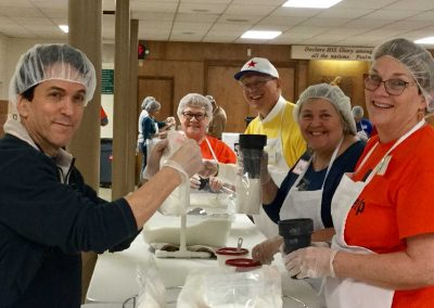 Volunteers Deliver an Impressive Repeat Performance At Motown Soup 8