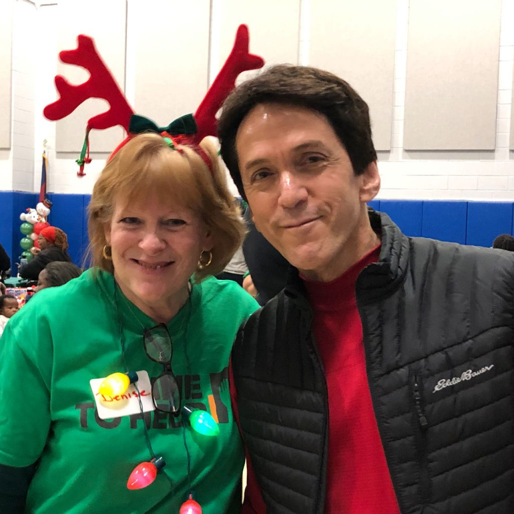 Volunteers ring in the holidays at Salvation Army Harbor Light 24