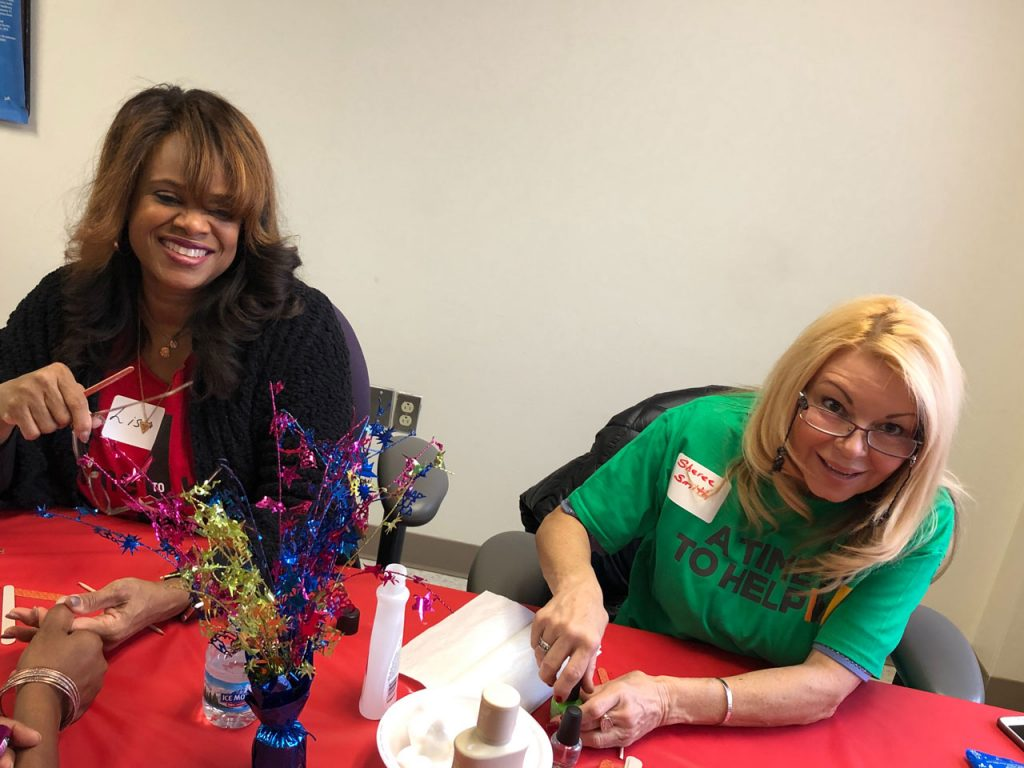 Volunteers ring in the holidays at Salvation Army Harbor Light 23