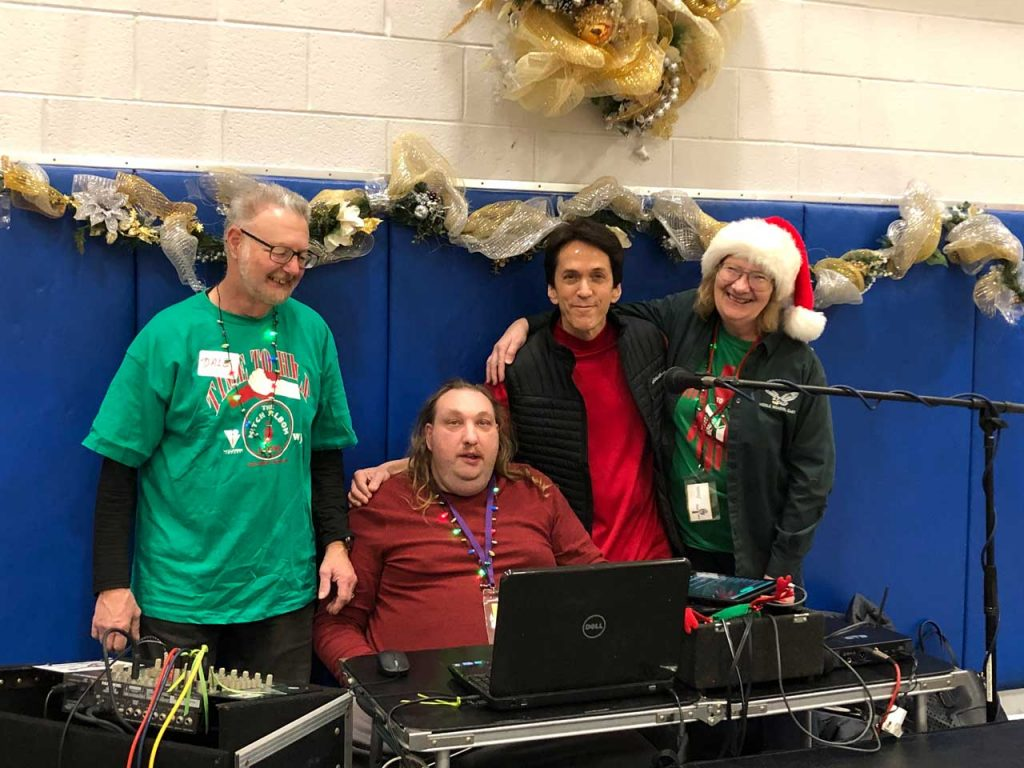 Volunteers ring in the holidays at Salvation Army Harbor Light 18