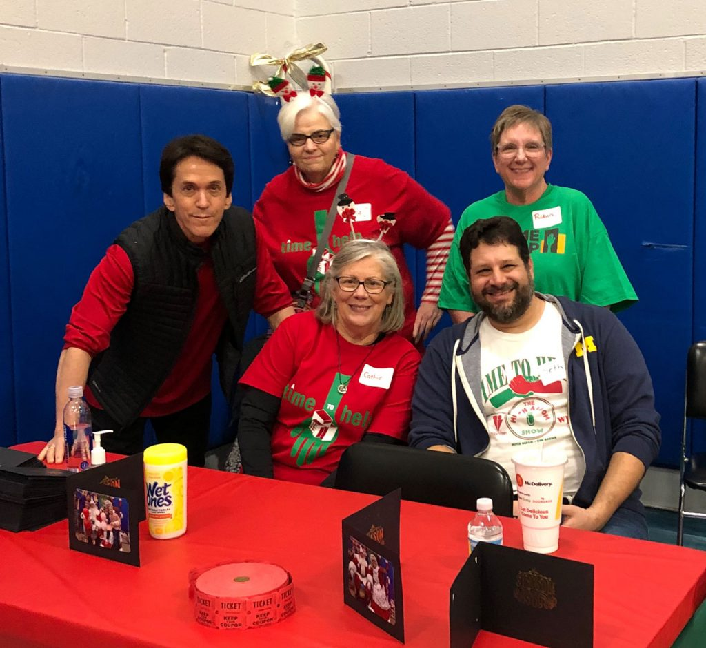 Volunteers ring in the holidays at Salvation Army Harbor Light 32