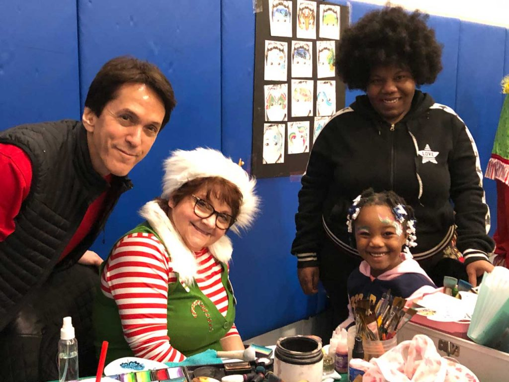 Volunteers ring in the holidays at Salvation Army Harbor Light 33