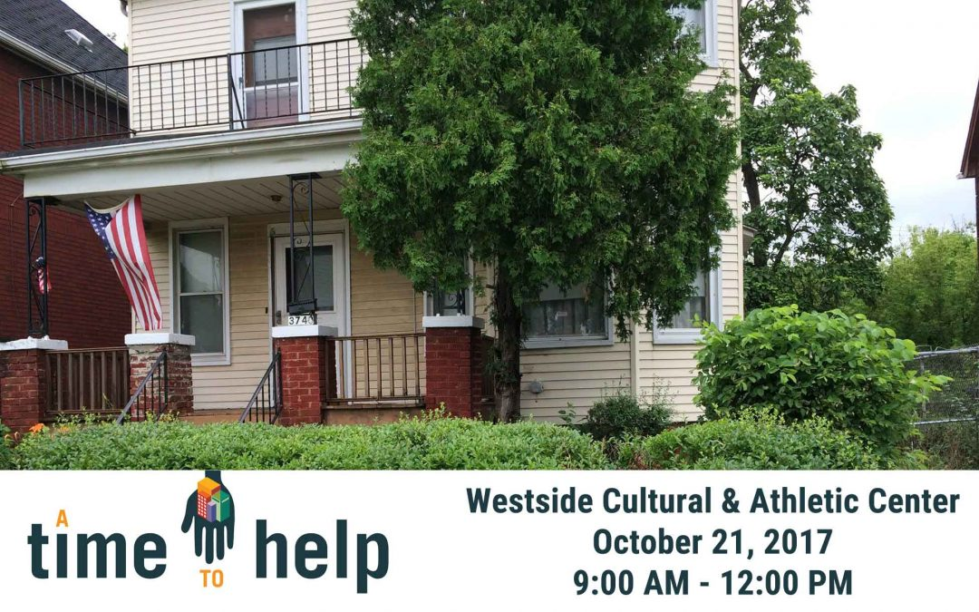 A Time to Help October 2017: Westside Cultural & Athletic Club